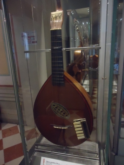"""""""Piano-guitar"""" Found in the instrument collection at the Accademia"""