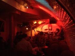 Blues-rock venue underground in the the middle of Paris. Everything from All Shook Up to Great Balls of Fire!