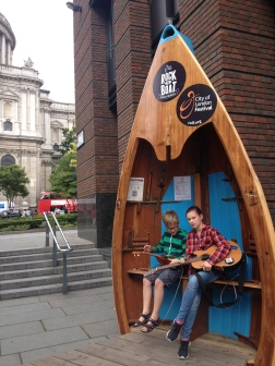 Street Guitars! A great opportunity to try something new!